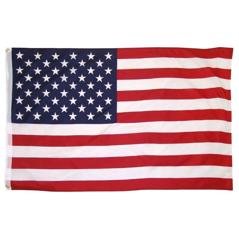 The USA National Flag 90*150cm The United States American National Flag Festival Celebration Home Decoration American Flags ...