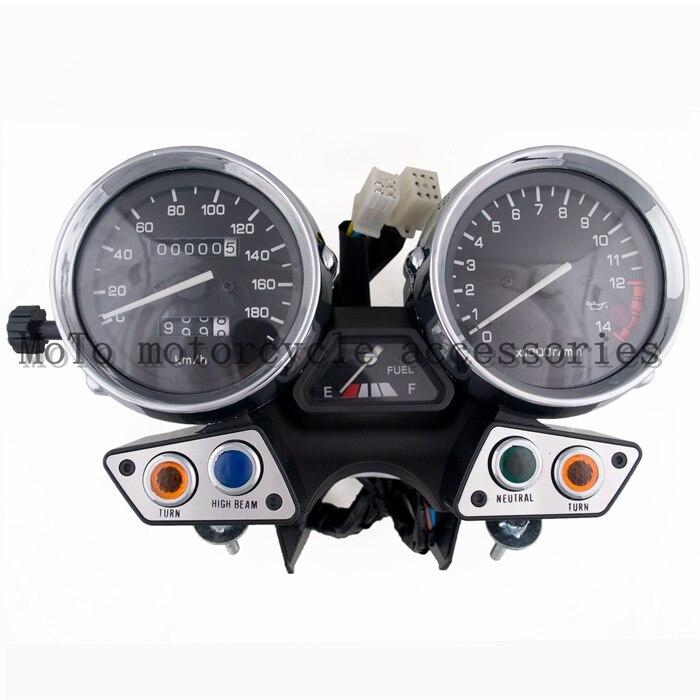 Motorcycle Speedometer Tachometer speedo instrument assembly motorcycle gauge meter accessories For XJR400 1995 1996 1997