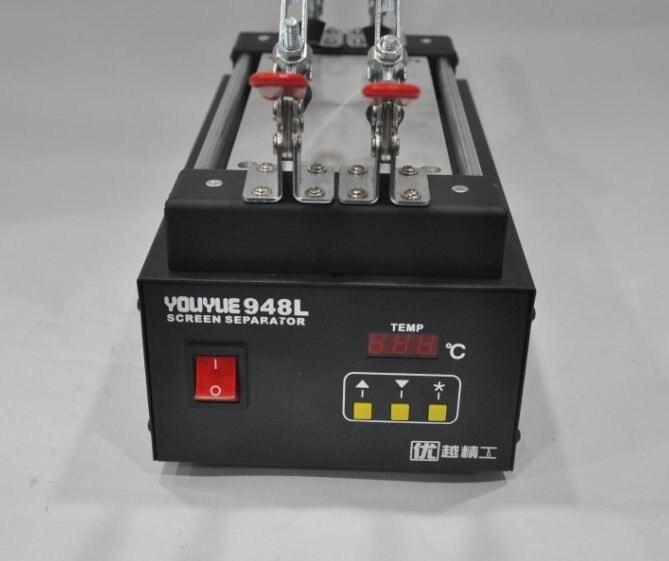 Youyue 948L lcd タッチスクリーンアセンブリセパレーター分割画面機テーブルの pc + 50 メートルカッティングワイヤー