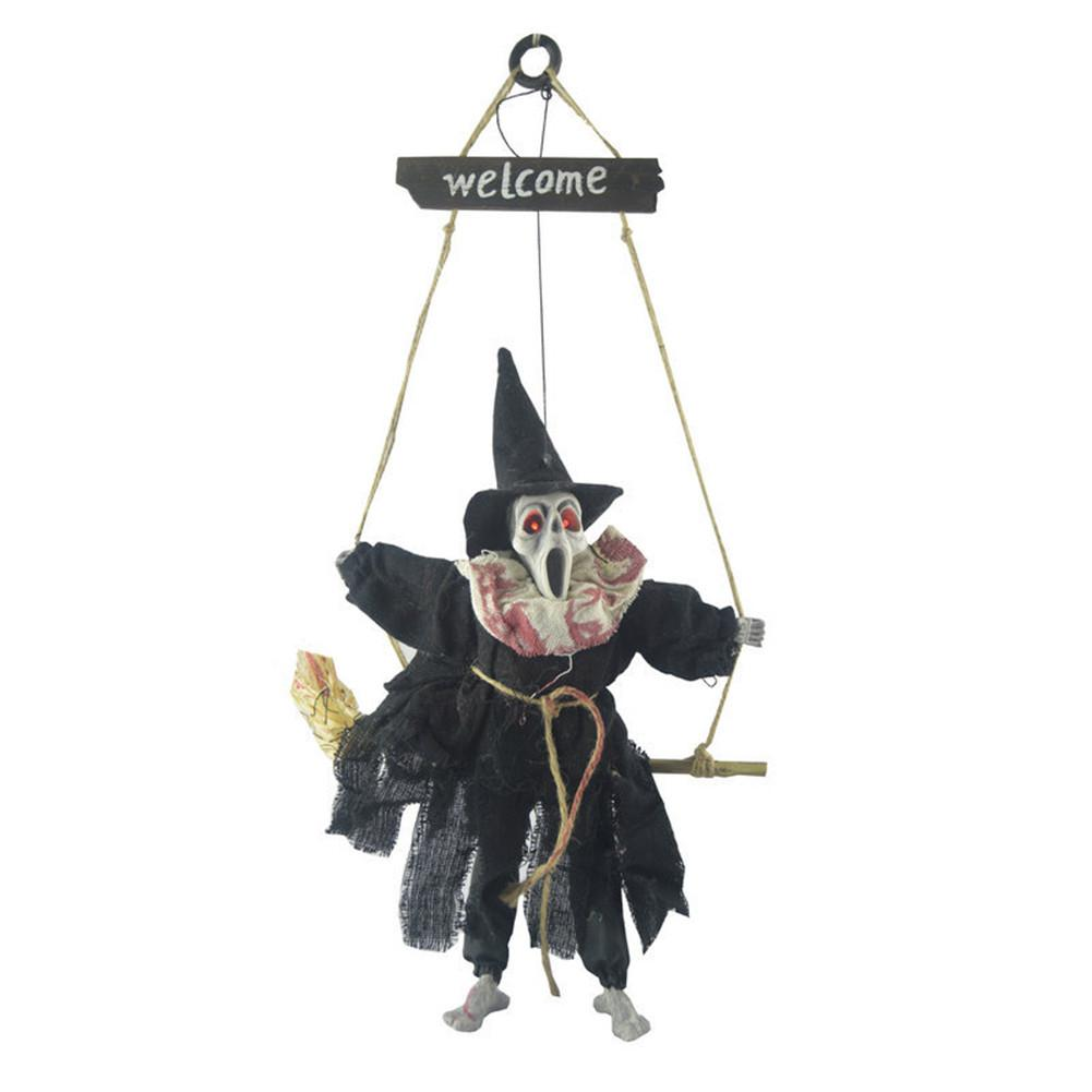 Children Fun Halloween Hanging Ornament Pendant Glowing Tricky Props Toys in Gags Practical Jokes from Toys Hobbies