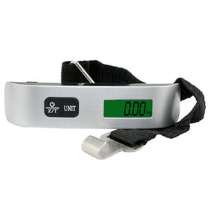 Image 4 - Portable LCD Digital Display Handheld Electronic Luggage Weighing Scales Balance Travel Baggage Suitcase Weigher Max 50kg 110ib