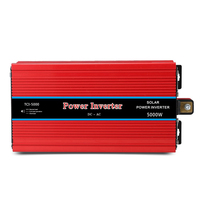 5000 W автомобиля Мощность инвертор светодиодный DC 12 V в AC 220 V/12 V в AC 220 V Солнечная Напряжение преобразователь с аксессуар для соединения DK002