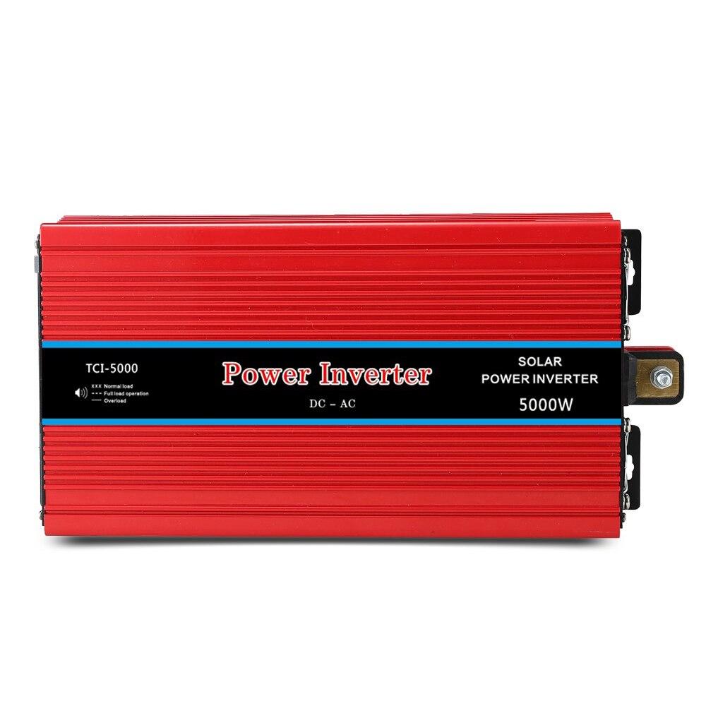 5000 W voiture onduleur LED DC 12 V à AC 220 V/12 V à AC 220 V convertisseur de tension solaire avec accessoire de connexion DK002