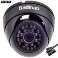 GADINAN HD 720 P Câmera IP Cúpula de Metal Ao Ar Livre/Interior 3.6mm Lente HD Night Vision P2P ONVIF À Prova D' Água Plug & Play CCTV Hi3518E V200