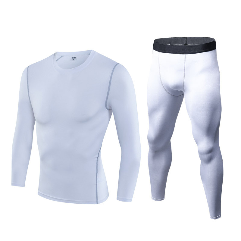3-Компрессионный спортивный комплект из 2 предметов, летняя быстросохнущая дышащая Спортивная одежда для бега для мужчин, спортивная одежда ... смотреть на Алиэкспресс Иркутск в рублях