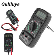 XL830L LCD Digital Multimeter Current Voltage Tester Backlight AC/DC Resistance Meter Multitester Handheld Electric Multimetro стоимость