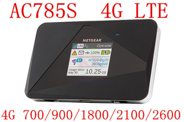 Netger AC785s LTE 4 г маршрутизатор Aircard 785 s Aircard 4 г lte мифи маршрутизатор dongle 4 Г LTE карман wi-fi маршрутизатор пк 970 e5876s 782 s e5878