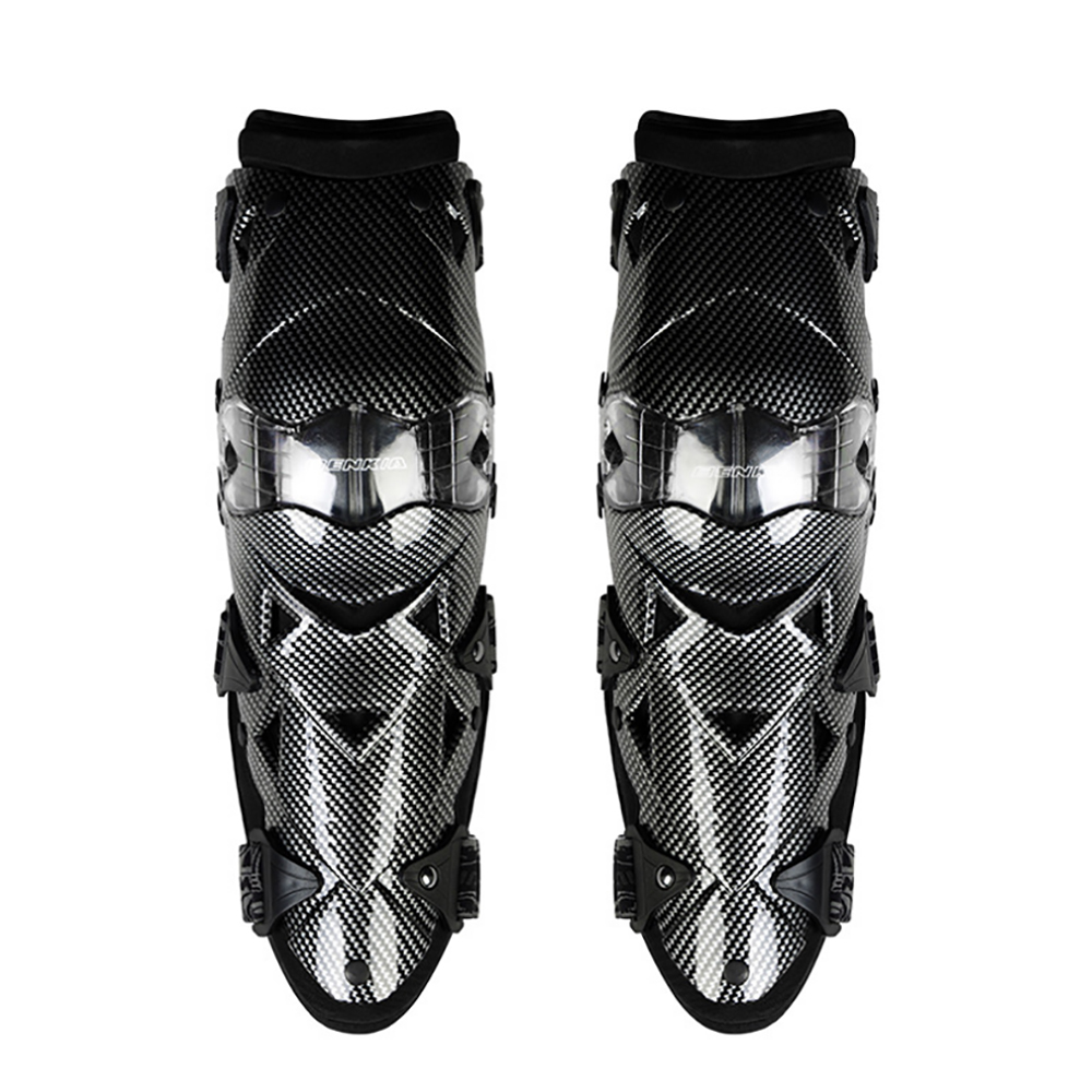 Image 2 - BENKIA Motorcycle Knee Pad Protective Gear PC Shell Moto 