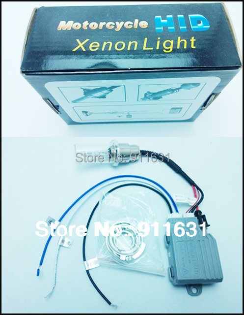 Motorcycle Xenon Kit Hid H6 H4 Hi/Low Motor Lights 12V 35W 4300k 5000k 6000k 8000k 12000k Free Shipping #B114B