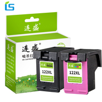 2Pcs Set 122xl Refilled Ink Cartridges Replacement For HP 122 XL Ink For HP Printer 3052A
