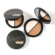 Brand  Bronzer & Highlighter Powder  Makeup 2 Colors Palette Base Contour Powder Highlighter Bronzer Naked