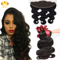 Brazilian Virgin Hair Body Wave With Closure 13X4 Ear To Ear Lace Frontal Closure With Bundles Brazilian Body Wave New Arrival