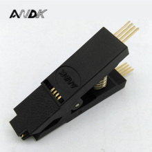 купить SOP8 Test Clip for BIOS SOP8 SOIC8 Original SOP8 Test Clip Pin pitch 1.27mm EEPROM 24CXX / 25CXX /93CXX in-circuit programming по цене 356.92 рублей
