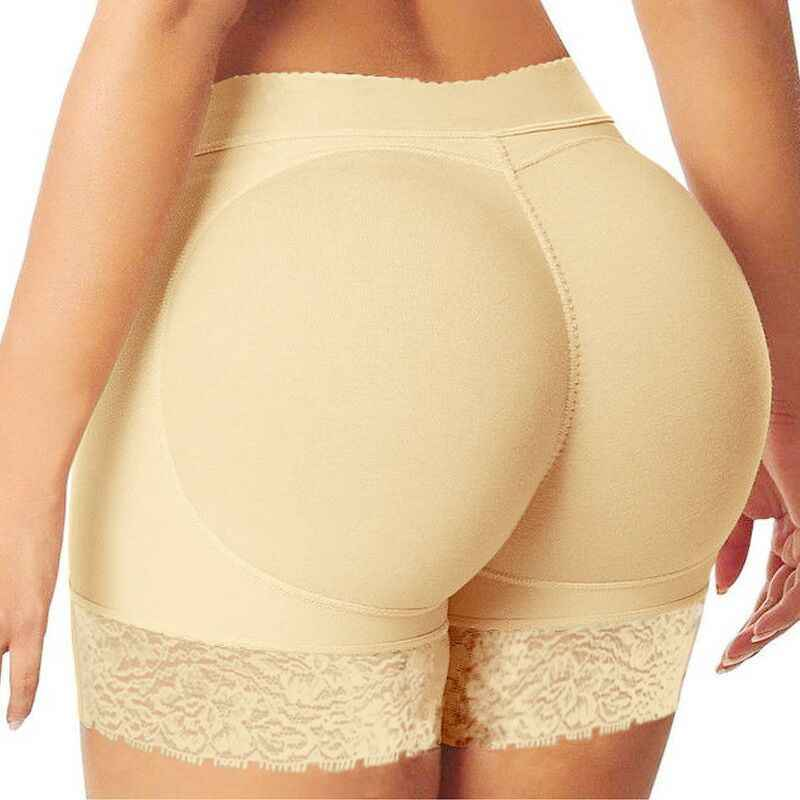 Hot kobiety Hip Enhancer Shaper Butt Lifter Push Up dół wyściełane figi bielizna SMA66