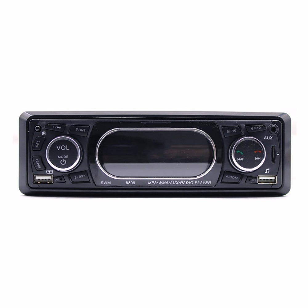 Original Dashboard Display Car MP3 WMA AUX Radio Player Support USB Bluetooth Secure Digital Memory Card Function