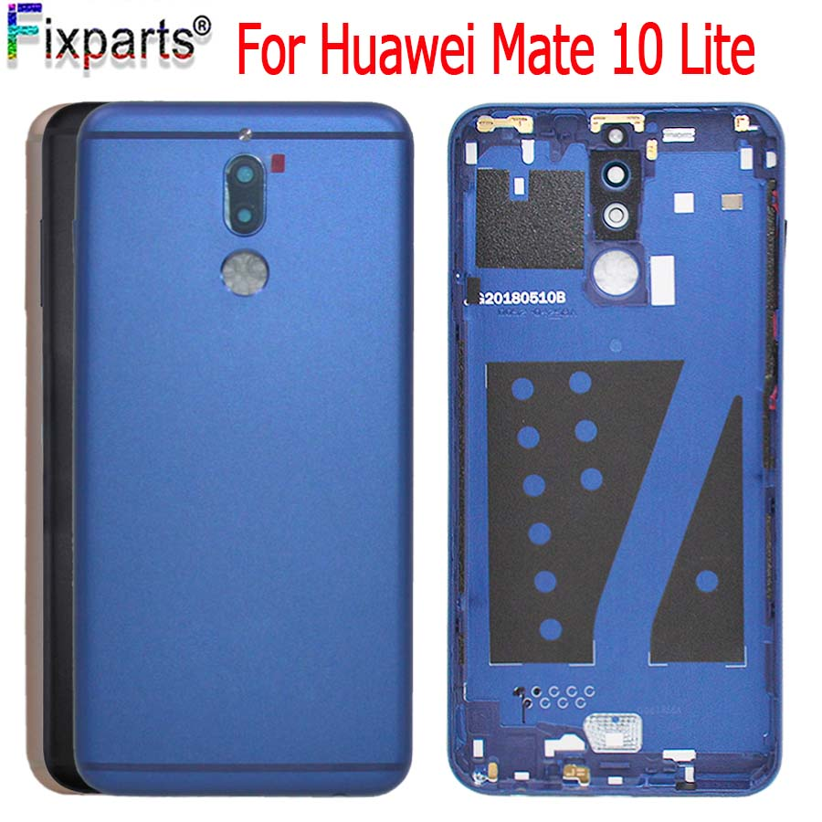 NEW Original Huawei Mate 10 lite Battery Cover G10 Rear Door Housing Back Case Replaced 5.9 Phone Huawei Nova 2i Battery CoverNEW Original Huawei Mate 10 lite Battery Cover G10 Rear Door Housing Back Case Replaced 5.9 Phone Huawei Nova 2i Battery Cover