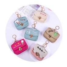Purses Super mini Fashion handbags Kawaii Cartoon Children Coin Purse Key Card Bag Gift For Girl Women