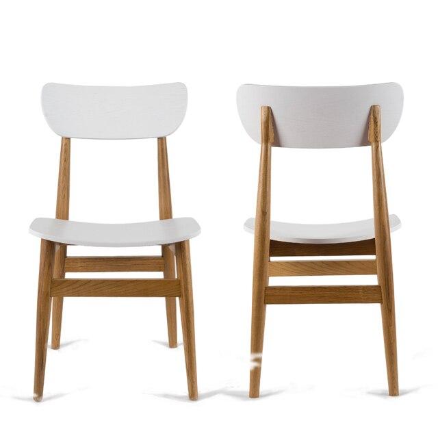 2x sedie moderne sedia da pranzo panca di legno sedia per sala da ...