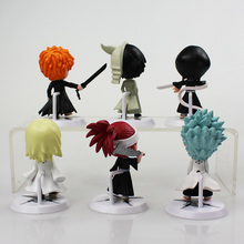 6Pcs/lot 7cm Anime Figure Bleach