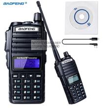 1PCS NK USB BaoFeng Walkie Talkie UV-82 Dual-Band 136-174/400-520 MHz FM Ham Two way Radio Transceiver