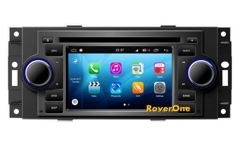 RoverOne Android 8,0 мультимедийный плеер для Dodge Калибр Caravan Зарядное устройство Dakota Durango Intrepid Magnum Neon Оперативная память Stratus Viper