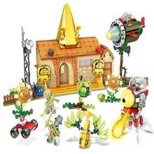 цена на 1036PCS Plants Vs Zombies Struck Game Building Blocks Set Toys Compatible With Legoingly Gift For Children