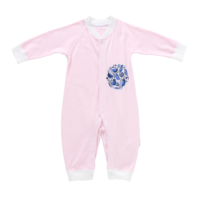 c489aa089 100% Cotton Babysuit Baby Romper Unisex Baby Clothes Playsuit Long ...
