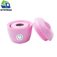 SYNTEAM Pink Hydrogen Water Maker SPE PEM Membrane Hydrogen Generator Bottom Alkaline Water Ionizer With Adapter For PET Bottle