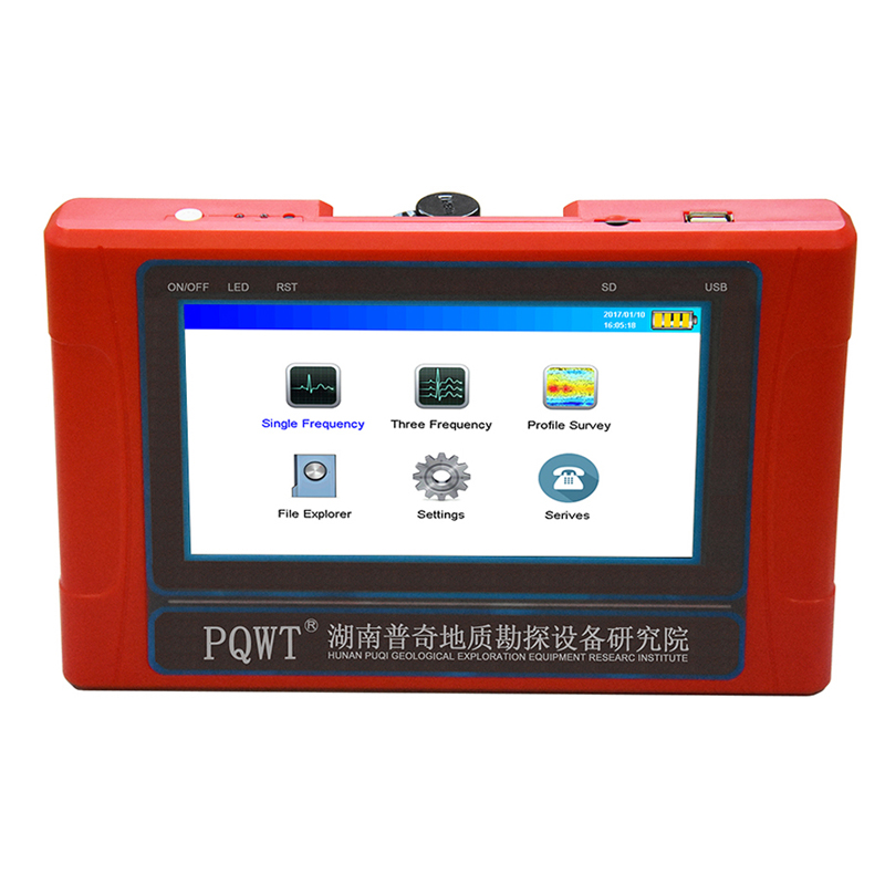 PQWT TC150 underground water detector Natural electric field frequency selection water well detection equipment