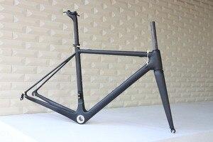 Image 5 - T1000 カーボンフレームフルカーボン繊維フレーム、サイズ、 48,50 、 52,54 、 56 58 と 60 センチメートルカーボンロードバイクフレーム FM066