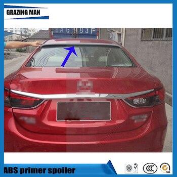 Горячая продажа ABS Праймер Неокрашенный спойлер на крыше автомобиля для Mazda 6 M6 Atenza 2014 2015 2016 2017
