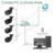 Hiseeu 720 p/960 p 1.0mp/hd de 1.3mp cámara de red ip cctv cámara de vigilancia h.264 onvif p2p remoto 2.0 ir cámara de la bala de seguridad