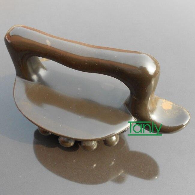 5A grade Original Si Bin Bian stone massage guasha kit magic brush thin massager 100 original
