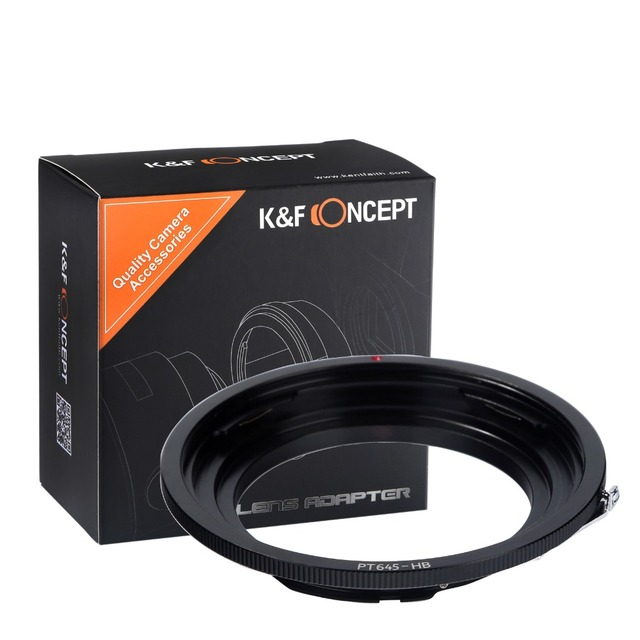 K&F Concept Hasselblad Lens to Pentax645 Lens Mount Adapter PT645-HB