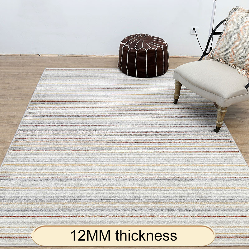 Hot Promo F7c3 Nordic Striped Minimalist Style Carpets For