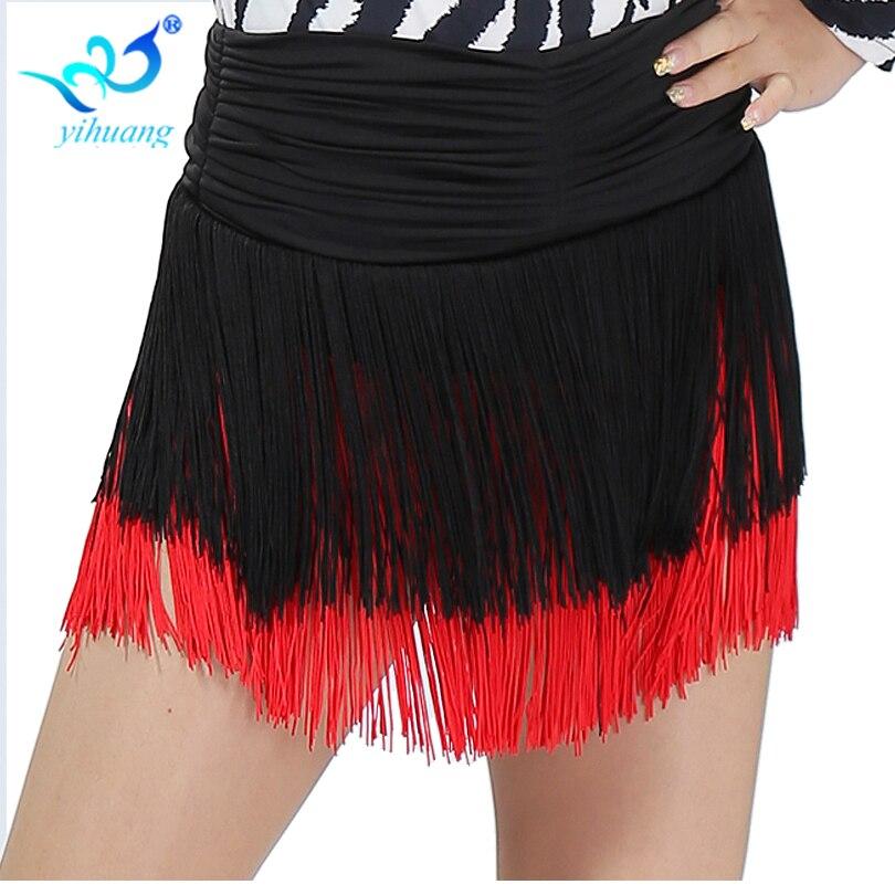 Velkoobchod Dívky Latinské taneční sukně dámské Cha Cha / Salsa / Samba / Rumba / Belly Dancer Dress