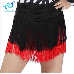 Wholesale Girls Latin Dance Cotume Skirt Ladies Cha Cha/Salsa/Samba/Rumba/Belly Dancer Dress Stretchy Waistband Perform Outfits