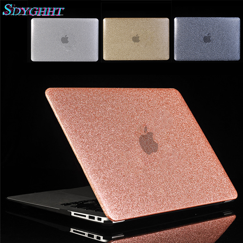 Hard Shine Glitter Laptop Case For Apple Macbook Air Pro Retina 11