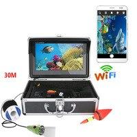GAMWATER 10 Inch Monitor HD Wifi Wireless 20M 30M 50M 1000tvl Underwater Fishing Video Camera Kit