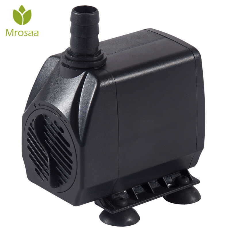 Ultra Low Noise Submersible Water Fountain Pump 3/6/10/15/25W Fish Tank Fountain Aquarium Water Pump Flowing Fish Supplies