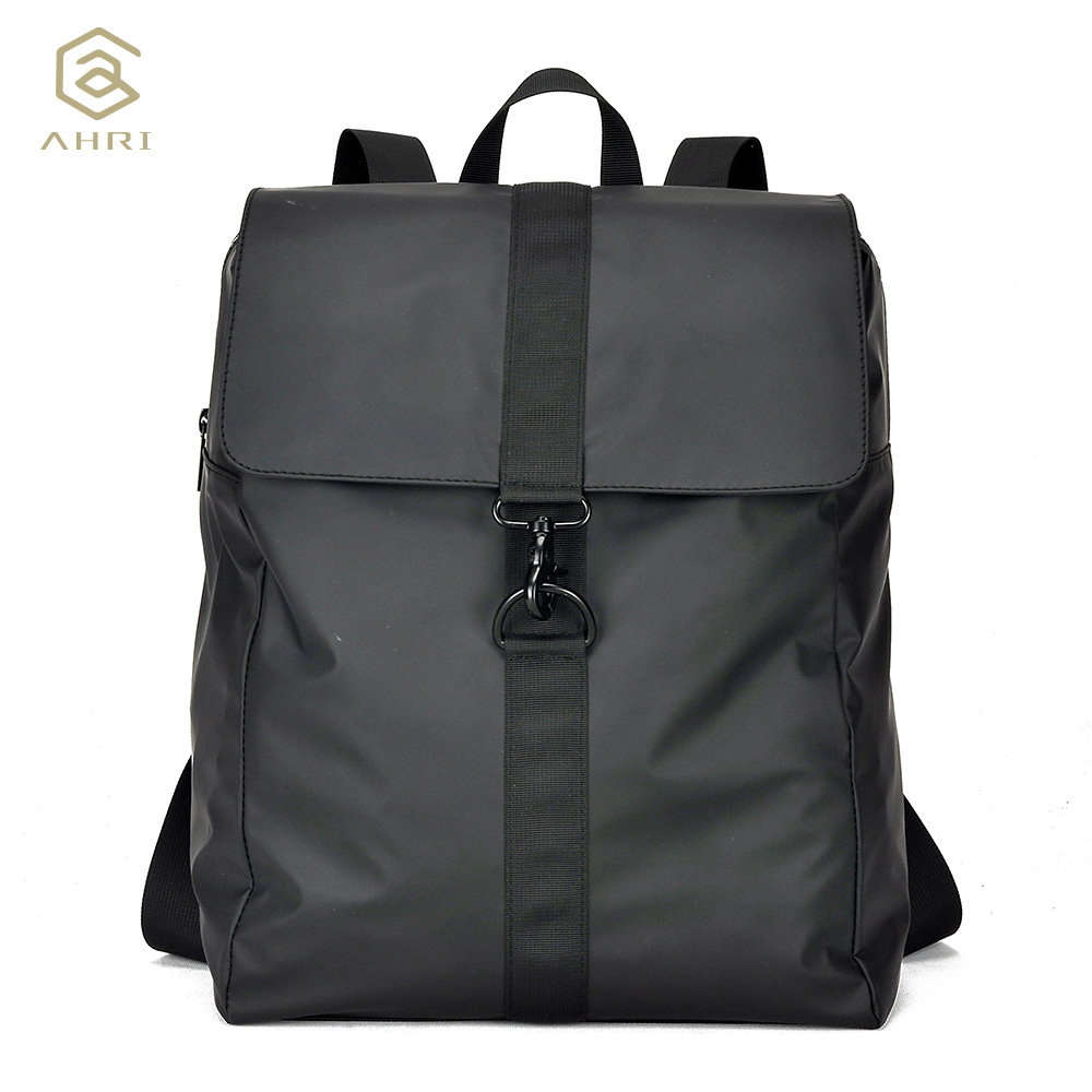 ФОТО AHRI HOT sales Men Casual Black Bags Vintage Fashion School Backpack Oxfrod Men's Shoulder Bag Business Boys Backpacks For men