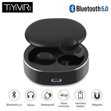 Wireless Headphones Bluetooth Earphone Noise Cancelling Stereo Wireless Headset with Charging Box for iphone Xiaomi Samsung mpow h1 wireless headphones hd hifi stereo noise cancelling headphones with microphone over ear bluetooth headset for iphone