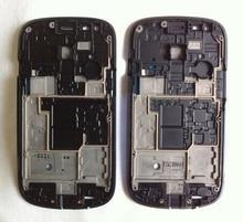 5pcs lot New Original Top Quality For Galaxy S3 Mini i8190 Front Housing Frame Bezel Plate