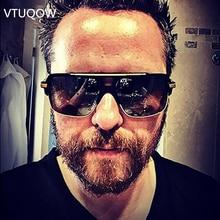 Luxury Square Sunglasses Men Brand Designer 2019 Vintage Retro Reflective Sun Glasses For Men Male Sunglass Mirror Oculos de sol все цены