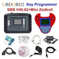 Полный набор V46.02 SBB + Мини Zedbull Key Программист Мини Zed bull ключ транспондера же Функция как CK100 46,02 ключ Maker Бесплатная доставка