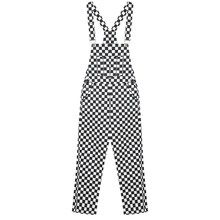 5246742ac1b0 GEZOUR Checkerboard Wide Leg Pants Overalls 2018 Casual Old School Hiphop  Harajuku