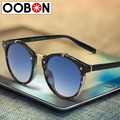 Oobon Real Limited Adult Sunglasses 2017 Women Fashion Designer Eyewear Uv400 Gradient Female Retro Sun Glasses Brand Points