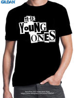 High Quality Personality Gildan Short Sleeve Broadcloth The Young Ones Crew Neck Mens T Shirt