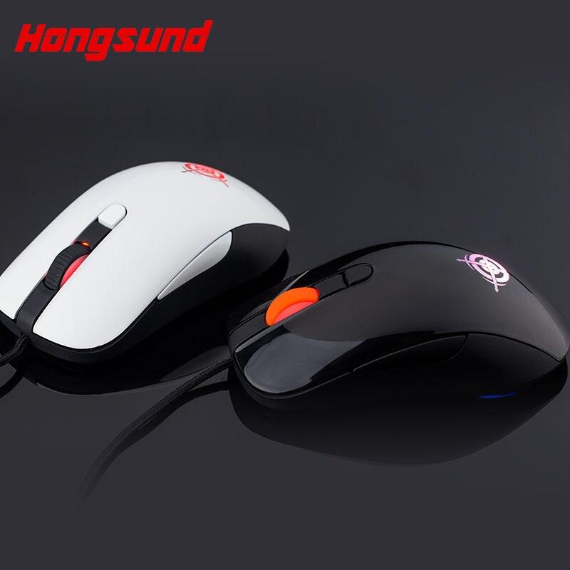 Envío gratis Hongsund MG1 atado con alambre ratón CF LOL - Periféricos de la computadora - foto 1