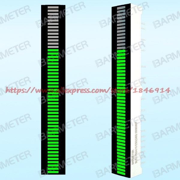 BL51-7505S 51 segment 75mm Emerald green LED bargraph display ...
